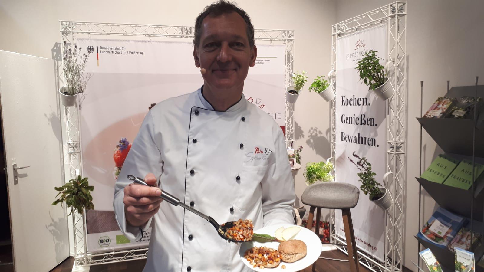Alfred Fahr kocht auf der ANUGA 2019