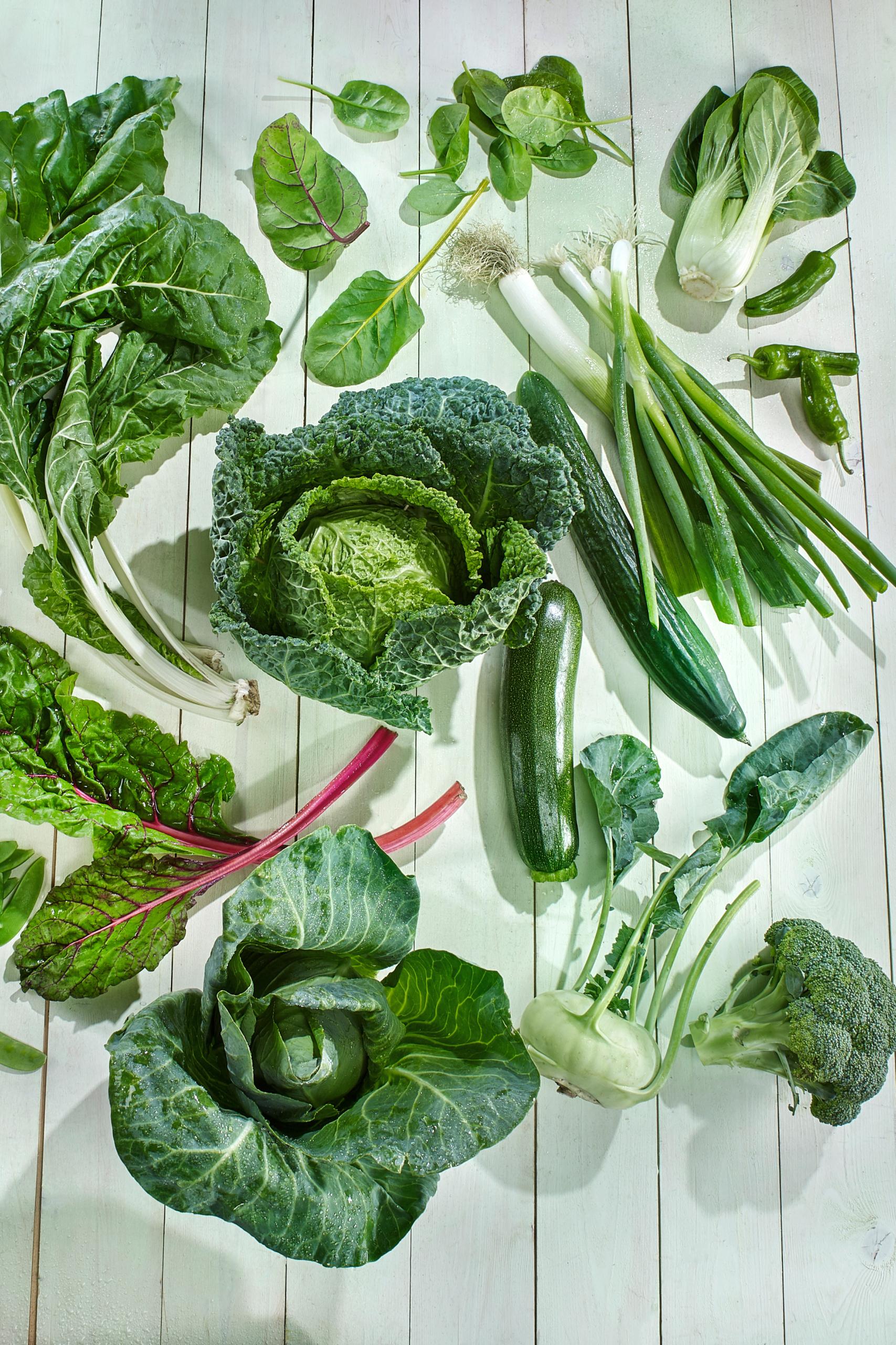 Kurz vor Herbst: Grünes Gemüse. Und danach? Auch!