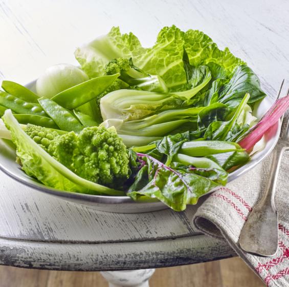 Rezept grünes Gemüse