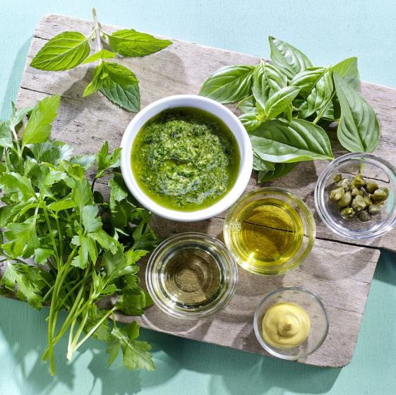 Sauce Basilikum Salsa Verde